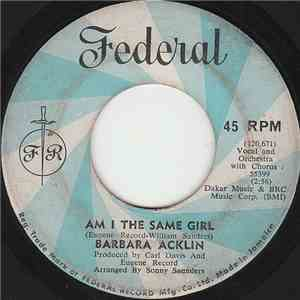 Barbara Acklin - Am I The Same Girl / Be By My Side download